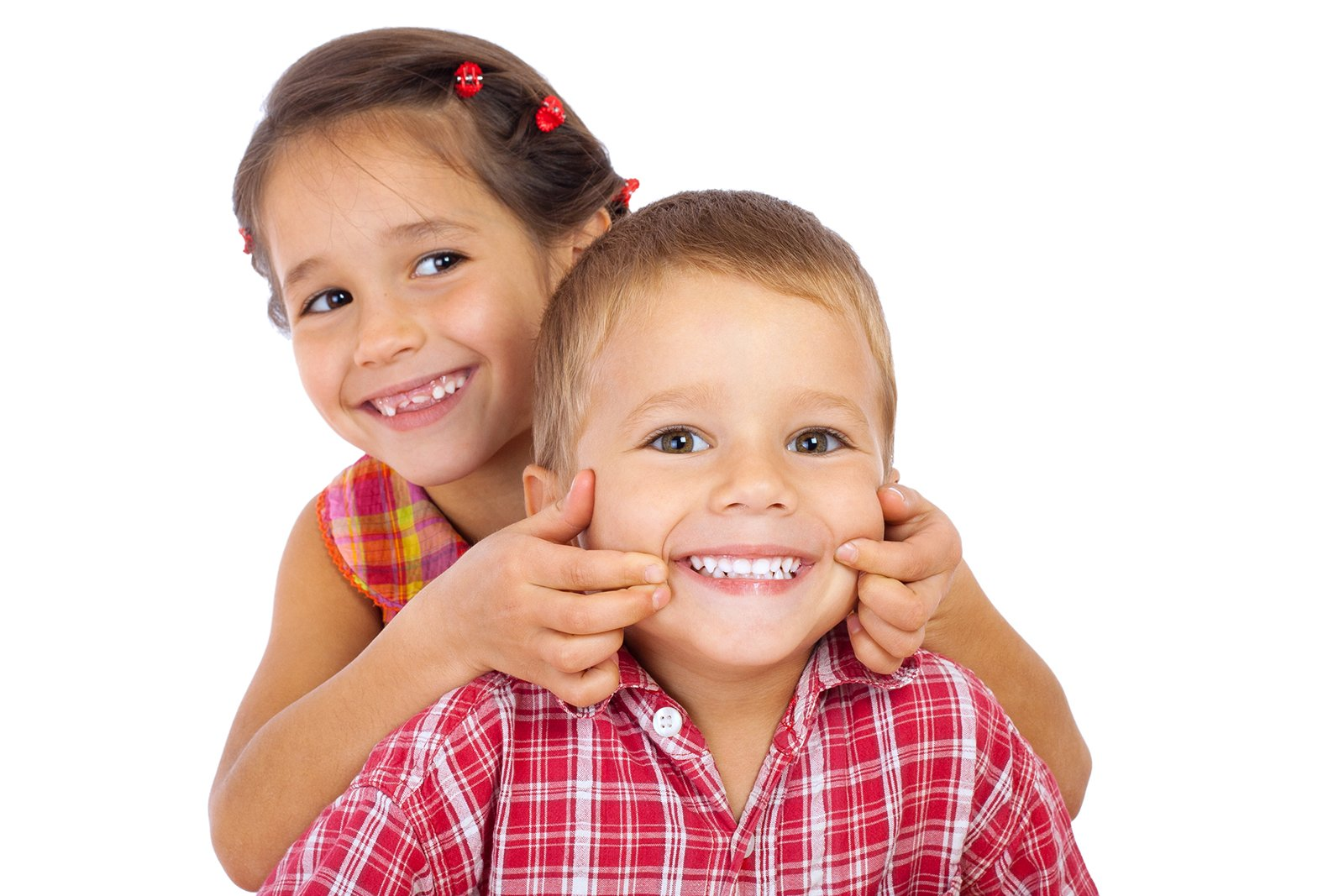 Munno Para Dental Clinic - Two funny smiling little children